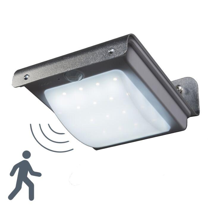 Wandlamp-Solaris-aluminium-met-sensor