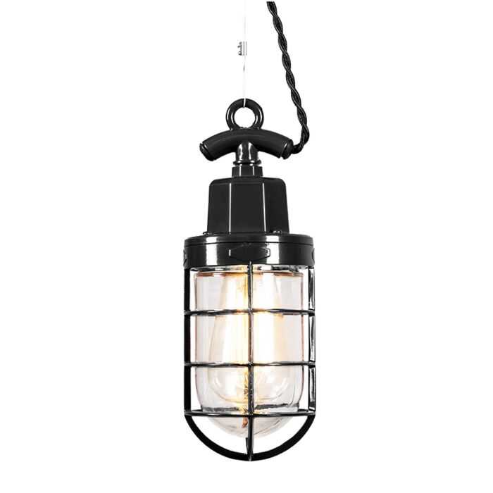 Hanglamp-Port-zwart