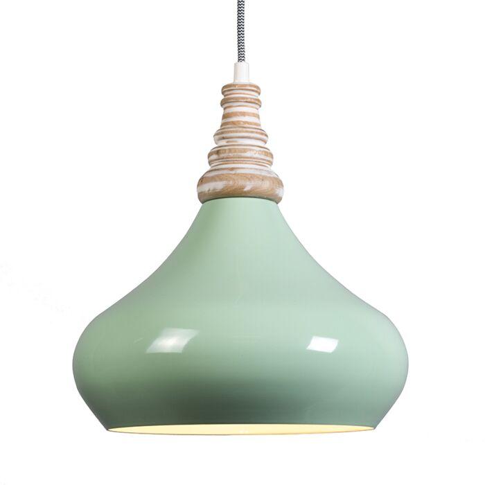 Hanglamp-Maple-mintgroen