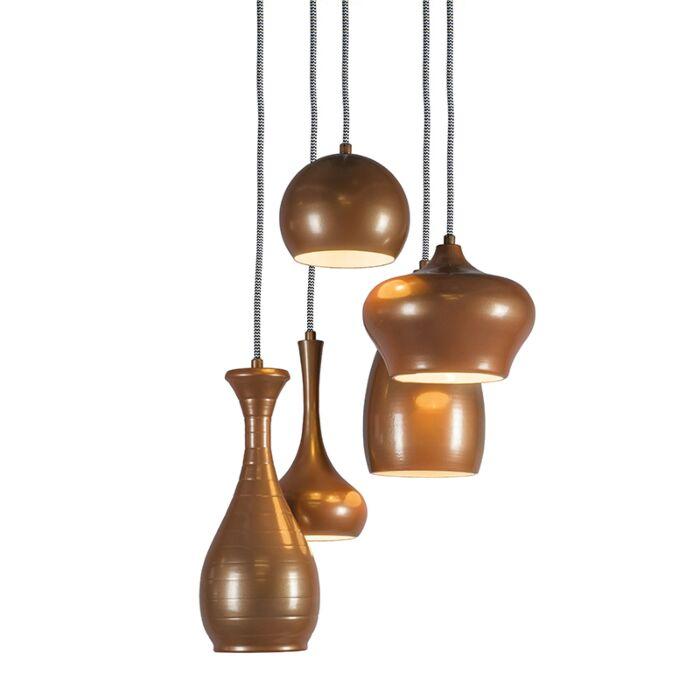 Design-Hanglamp-Drops-5-koper