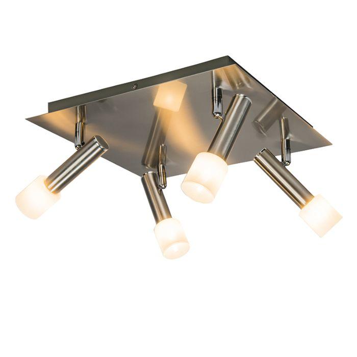 Spot-Capri-4-vierkant-staal