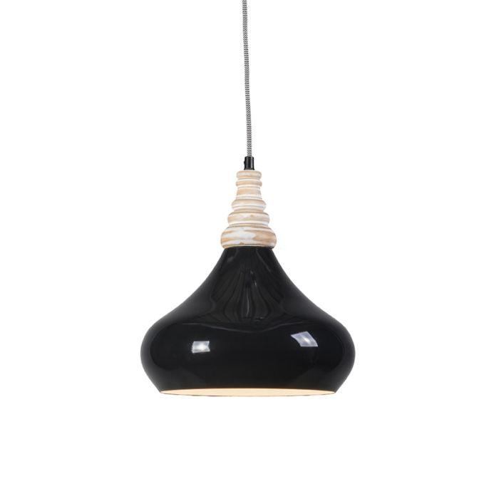 Hanglamp-Maple-zwart