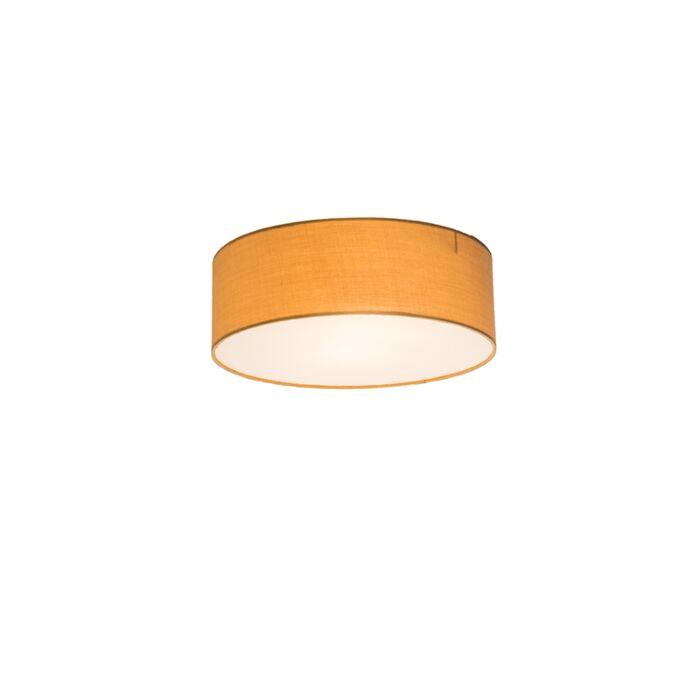 Plafondlamp-Drum-Basic-30-beige