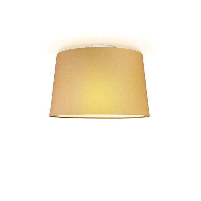 Plafonniere-Ton-rond-40-beige