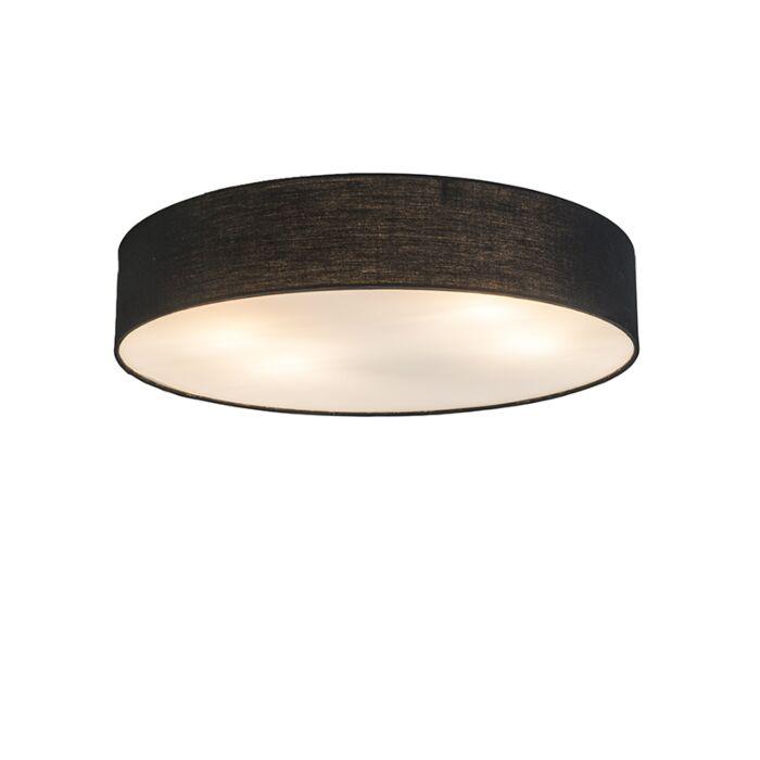 Plafonnière-Drum-Basic-50-zwart