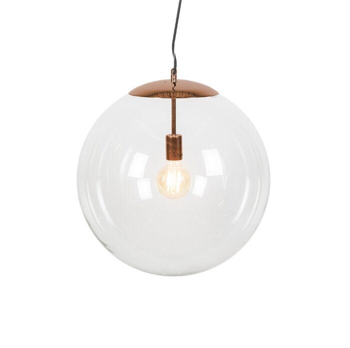 Moderne-hanglamp-koper-50-cm---Ball