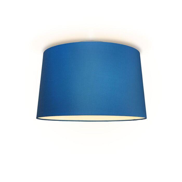 Plafonniere-Ton-rond-50-blauw