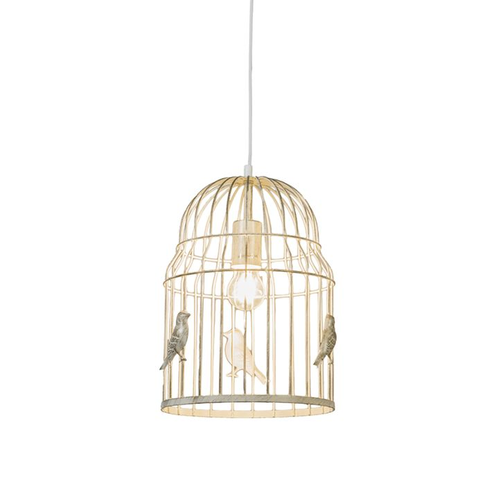 Hanglamp-Birdcage-wit