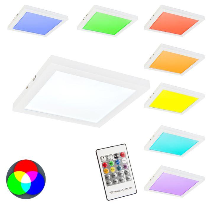 Plafonniere-Cuadrado-RGB-wit
