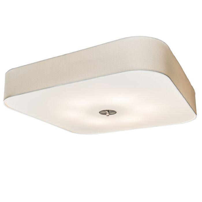 Plafondlamp-vierkant-wit-70-cm---Drum-deluxe-Jute