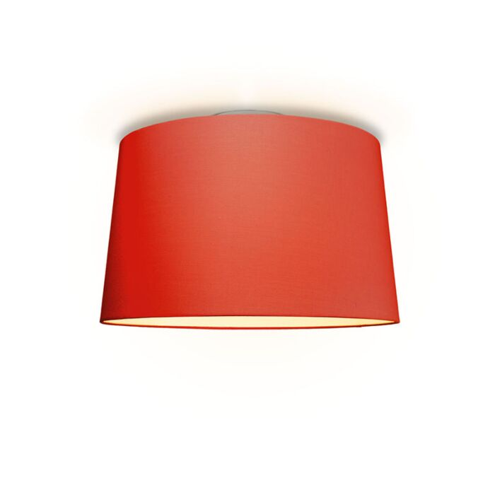 Plafonniere-Ton-rond-50-rood
