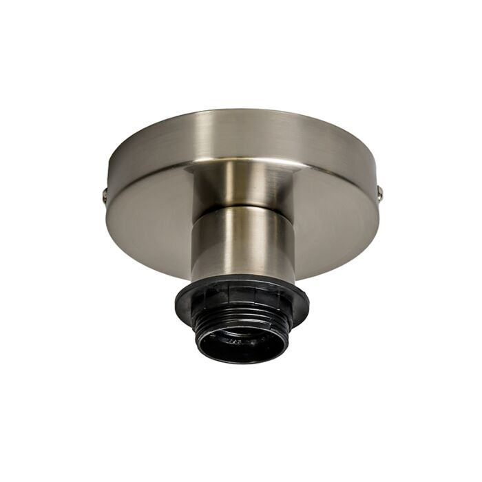 Plafondlamp-Combi-staal-zonder-kap