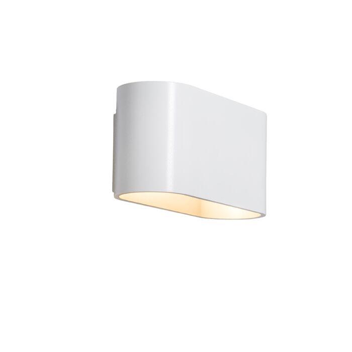 Wandlamp-Alone-wit-zilver