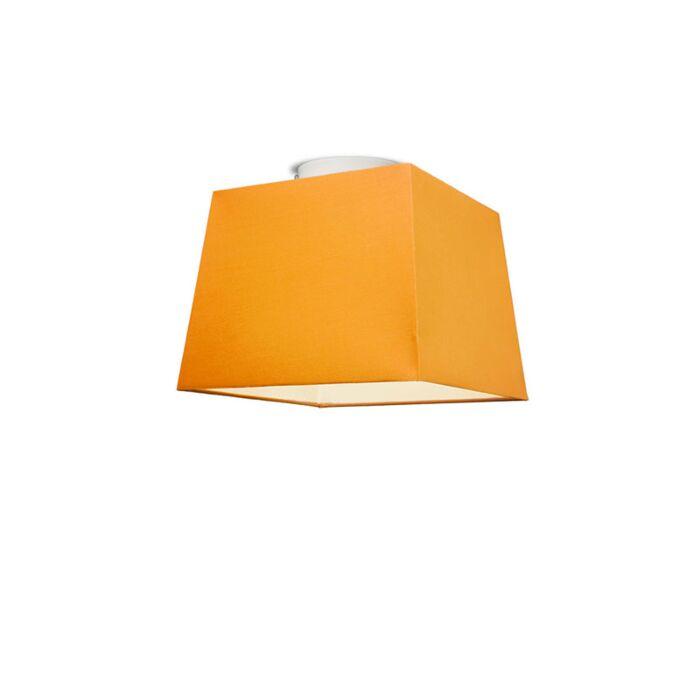 Plafonniere-Ton-vierkant-30-oranje
