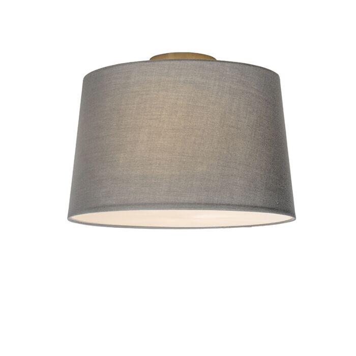 Plafonnière-Combi-40cm-grijs-met-blender