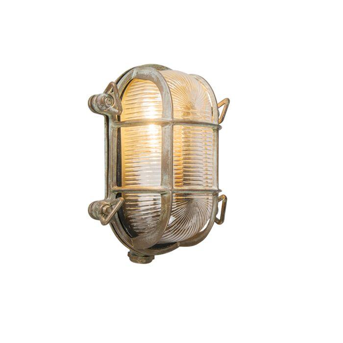 Retro-wandlamp-bruin-18-cm-IP44---Nautica-2-ovaal