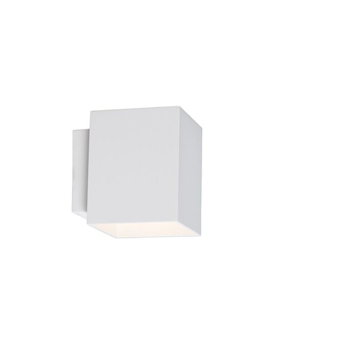 Wandlamp-Sola-vierkant-wit