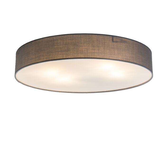 Plafonnière-Drum-Basic-60-grijs