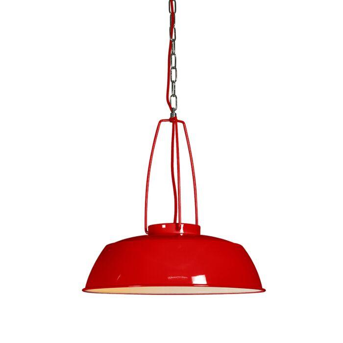Hanglamp-Usine-rood