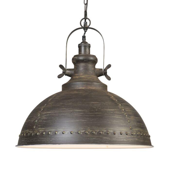 Hanglamp-Ravi-bruin