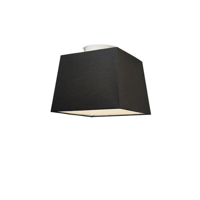 Plafonniere-Ton-vierkant-30-zwart
