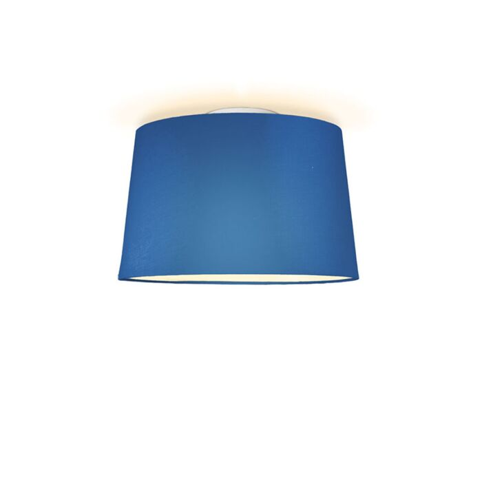 Plafonniere-Ton-rond-40-blauw