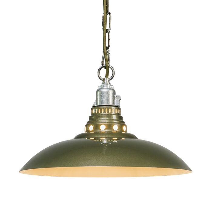Hanglamp-Stratum-groen/grijs
