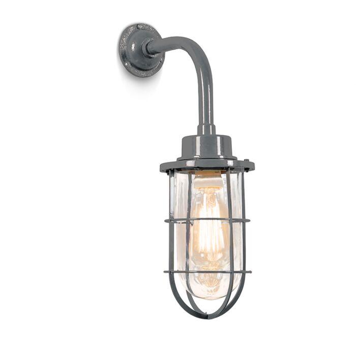 Wandlamp-Port-grijs