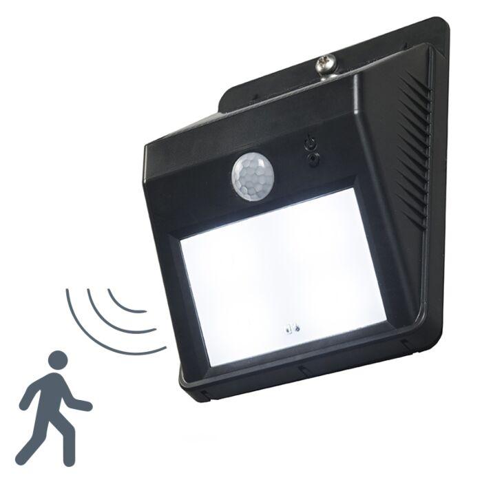Wandlamp-Twilight-zwart-met-sensor