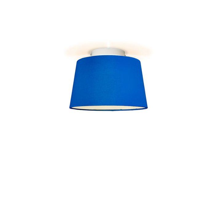 Plafonniere-Ton-rond-30-blauw