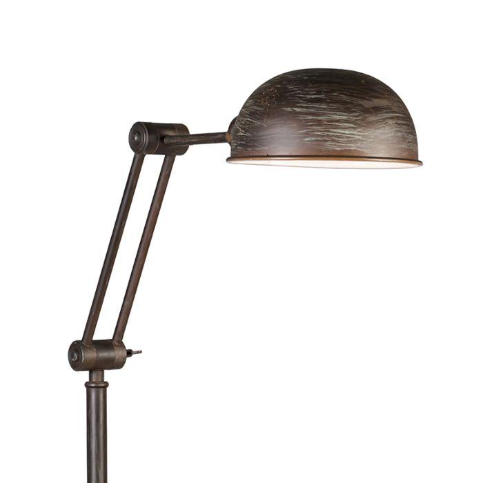 Vloerlamp-Malwa-roestkleur