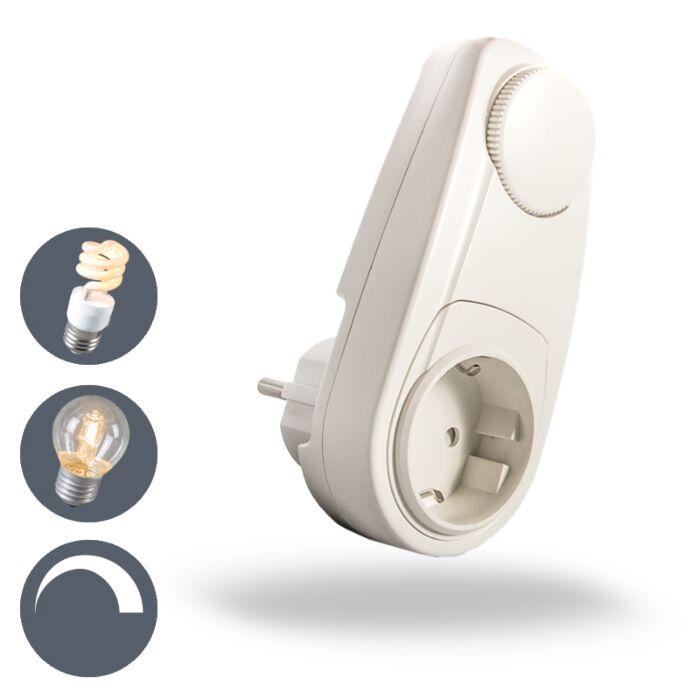 Stekkerdimmer-voor-spaarlampen-tot-150W