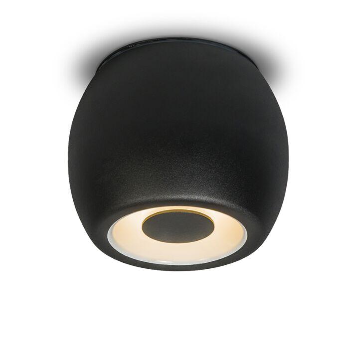 Plafondspot-Fondo-zwart