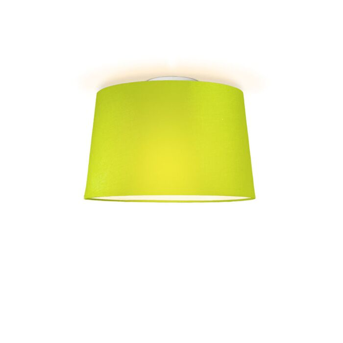 Plafonniere-Ton-rond-40-groen