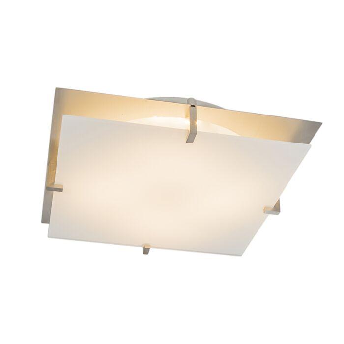Plafonnière-Atomy-15W-LED-vierkant-wit