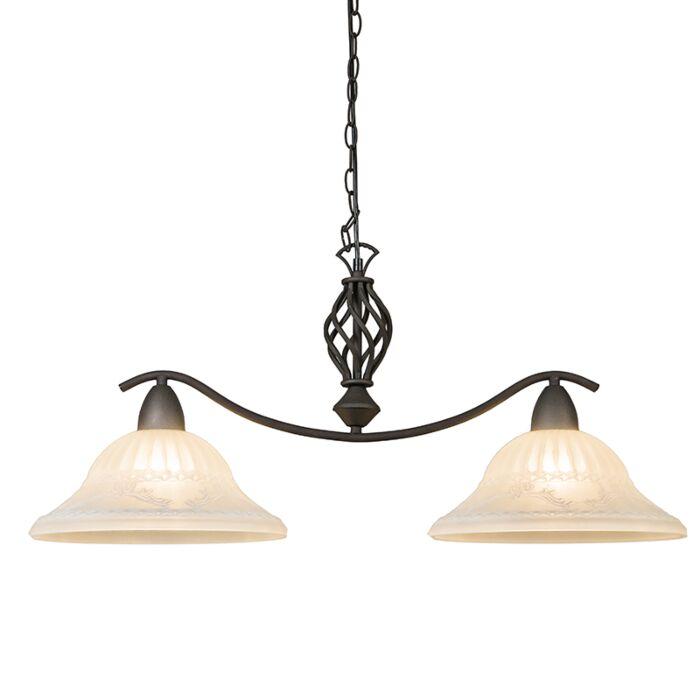 Hanglamp-Elegant-2-roestkleur