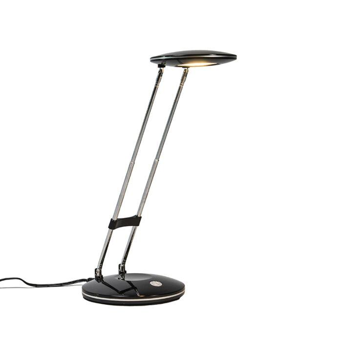 Tafellamp-Discus-zwart