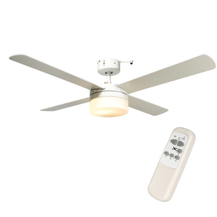 Plafondventilator-Breeze-48-wit