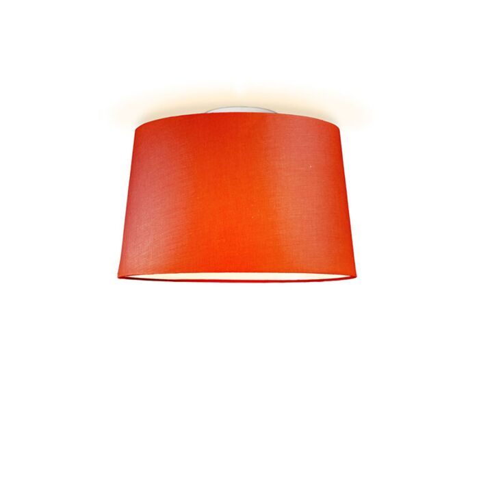Plafonniere-Ton-rond-40-rood