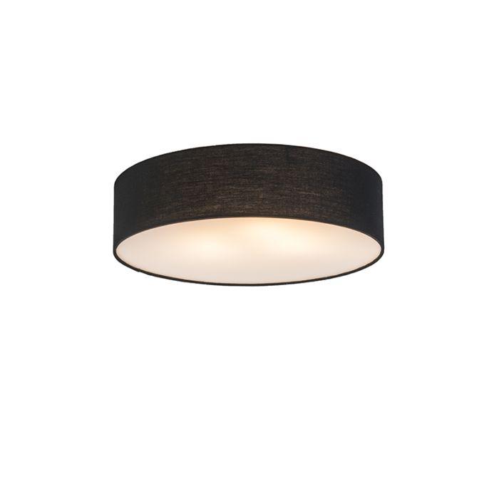 Plafonnière-Drum-Basic-40-zwart