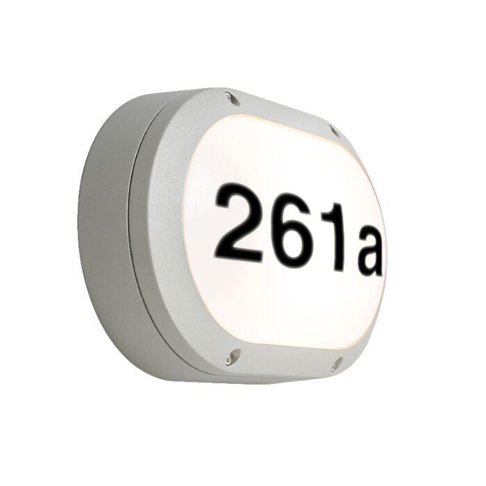 Buitenlamp-Glow-Ovaal-1H-met-huisnummer
