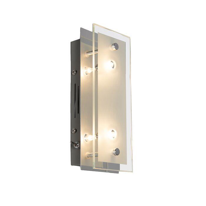 Wandlamp-Troy-2-chroom