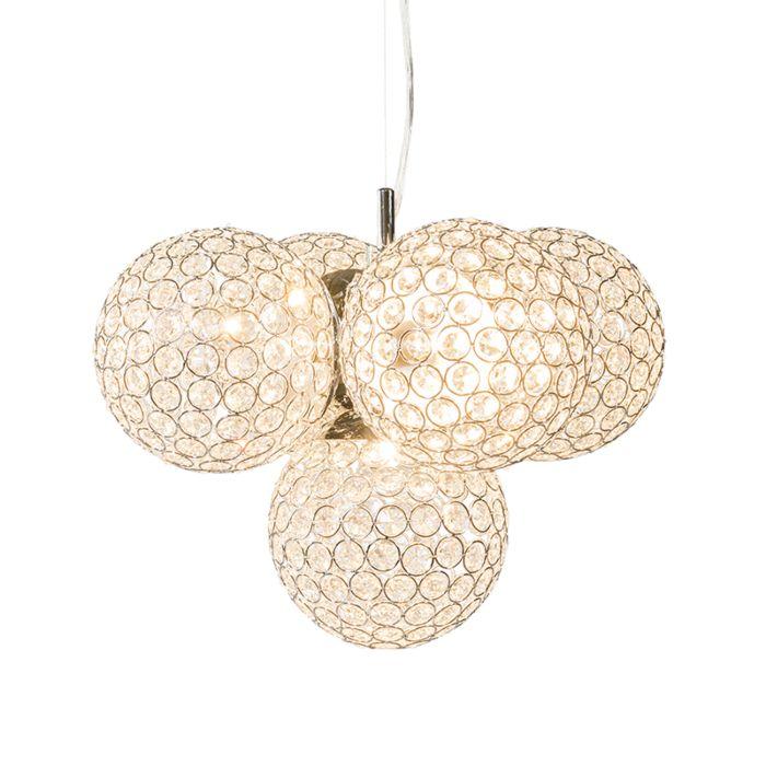 Hanglamp-Brussels-chroom