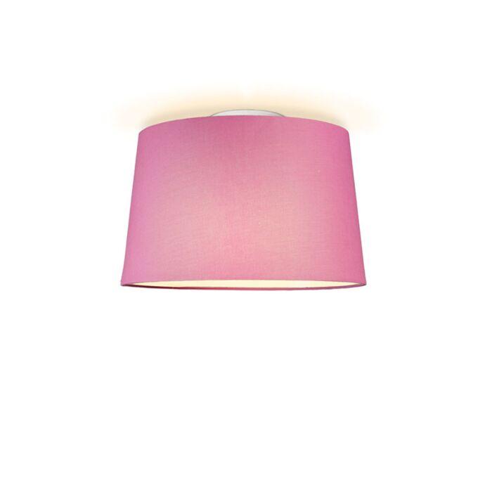 Plafonniere-Ton-rond-40-roze
