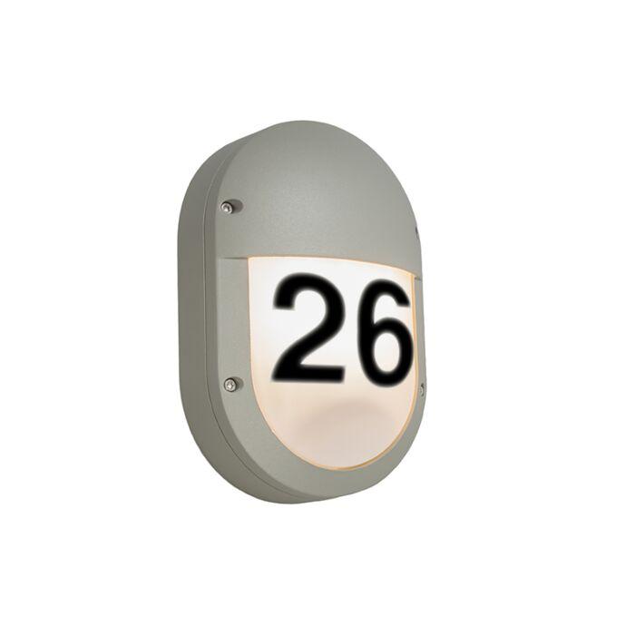 Buitenlamp-Glow-Ovaal-2-met-huisnummer
