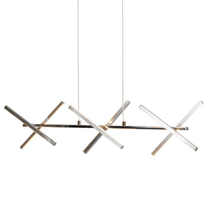Hanglamp-Cross-staal