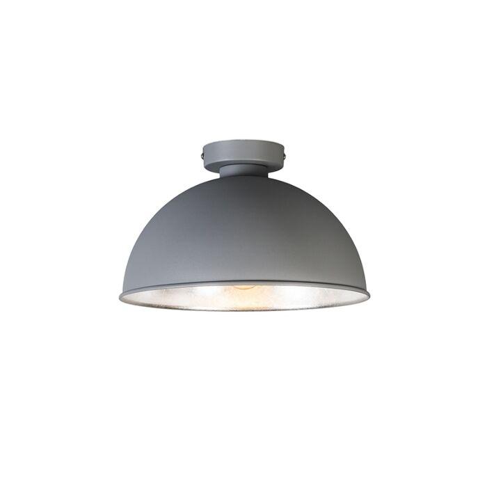 Moderne-ronde-plafonniere-grijs---Magna-Basic