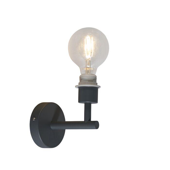 Wandlamp-Combi-1-donkergrijs-zonder-kap