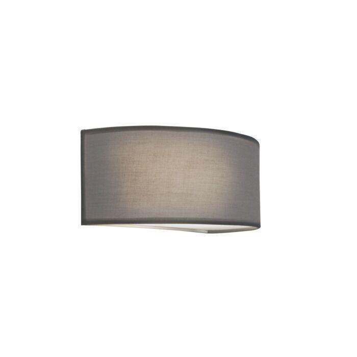 Wandlamp-Drum-Basic-halfrond-grijs