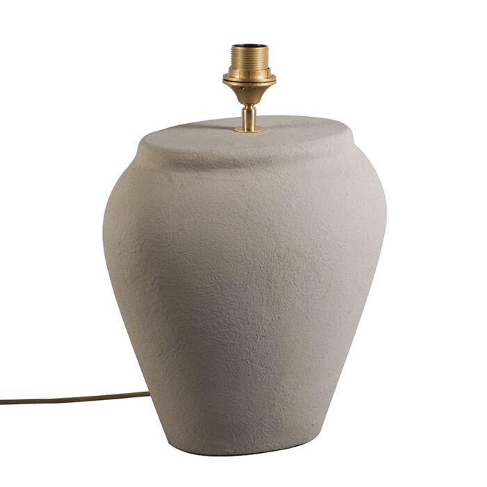 Tafellamp-Blava-ovaal-grijs